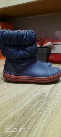 Зимние сапожки Crocs,31 размер