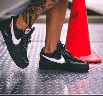 Off-White x Nike Air Force 1 'Black'