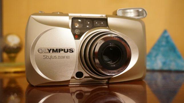 Olympus zoom 160 Фотоаппарат плёночный полный комплект