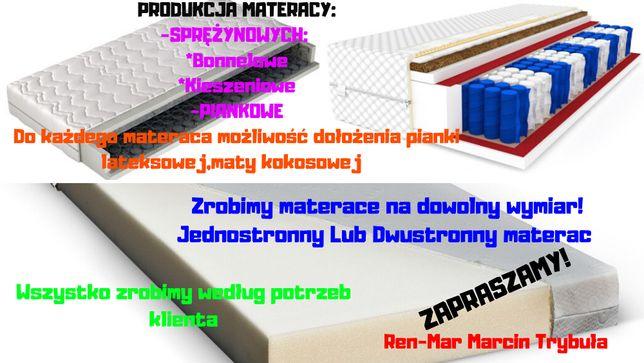 Produkcja Materacy na wymiar