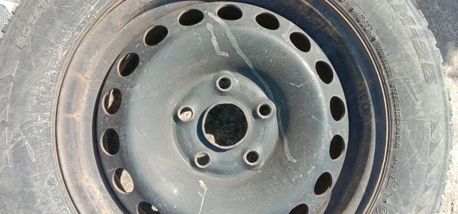 Продам диски залізні Volkswagen, Skoda, Audi 15 дюймів. Комплект 4 шт.