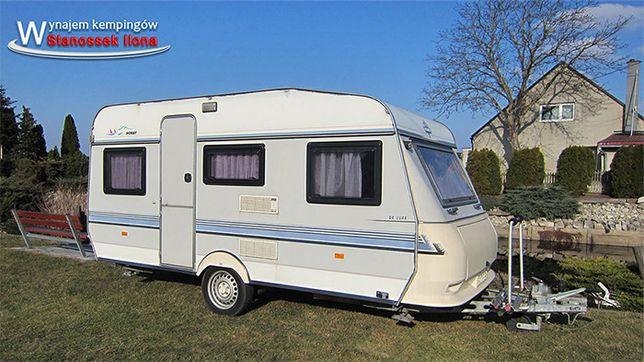 Wypożyczę przyczepę kempingową Hobby 430 wypożyczalnia Camping kamping