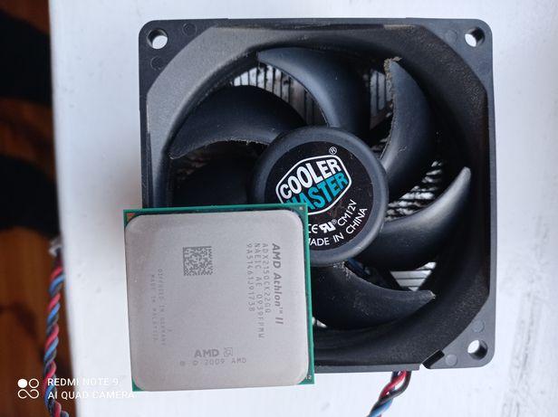 Procesor AMD Athlon II z wentylatorem