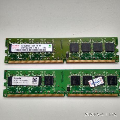 Модули памяти Hynix DDR2 1Gb