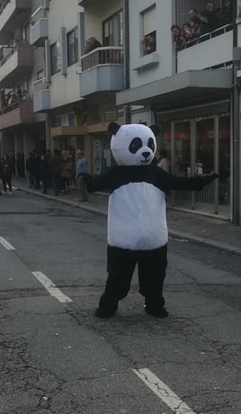 Panda - mascote de adulto (Alugo)