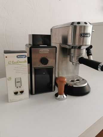 Ekspres do kawy Delonghi dedica + tamper gratis