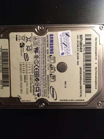 Dysk twardy do laptopa 80gb
