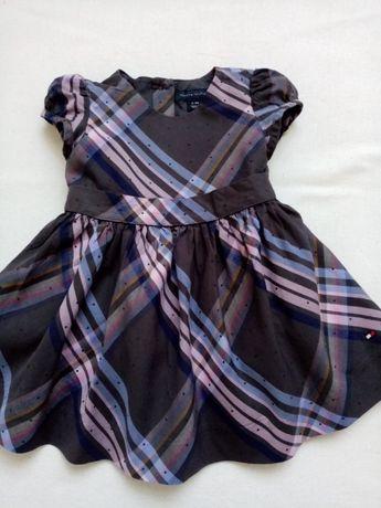 Tommy Hilfiger sukienka rozm. z met. 6-9M (62-74)