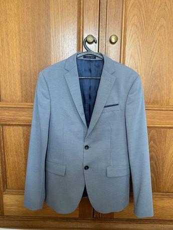 Fato Blazer Slim Fit tamanho 46 Zara Man  Usada APENAS uma vez
