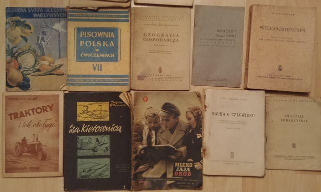 Okazja książki powojenne 1946 do 1957