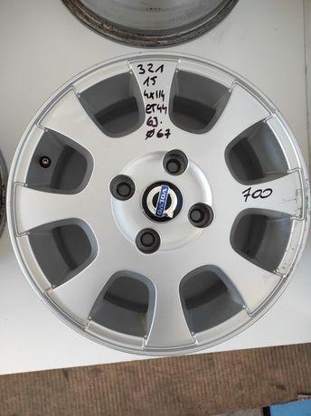321 Felgi aluminiowe ORYGINAŁ VOLVO R 15 4x114 otwór 67 MITSUBISHI