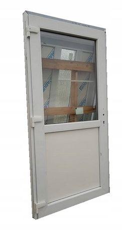 Drzwi zewnętrzne PCV Sklepowe KACPRZAK 90x190