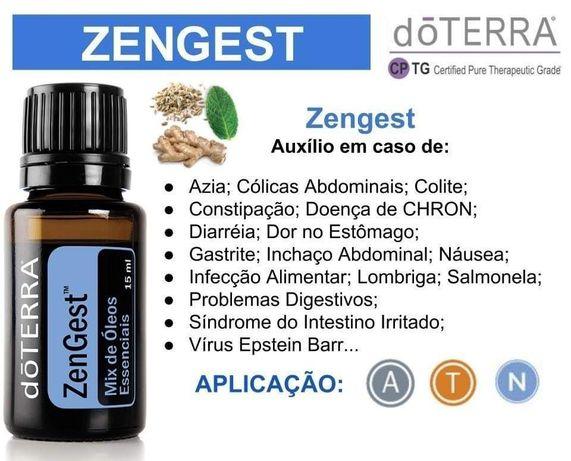Oleo essencial ZENGEST