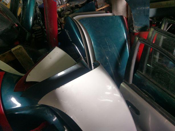 Крышка багажника ланос блок кпп двери бампер бак потолок стартер