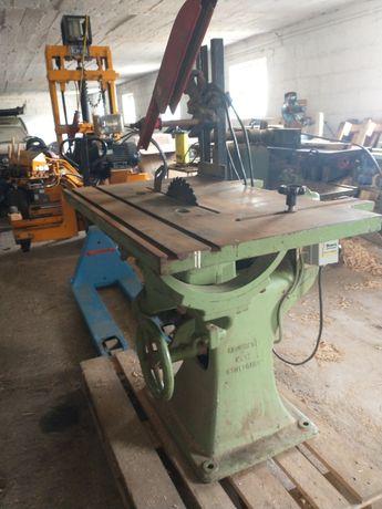 Pilarka stołowa żeliwna krajzega piła do drewna 4kw