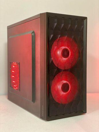 Бюджетный игровой компьютер INTEL XEON четыре ядра + видеокарта DDR5