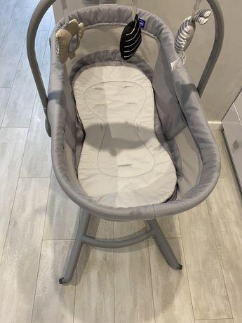 Ліжечко-стільчик Chicco Baby Hug Air 4 в 1 сірий