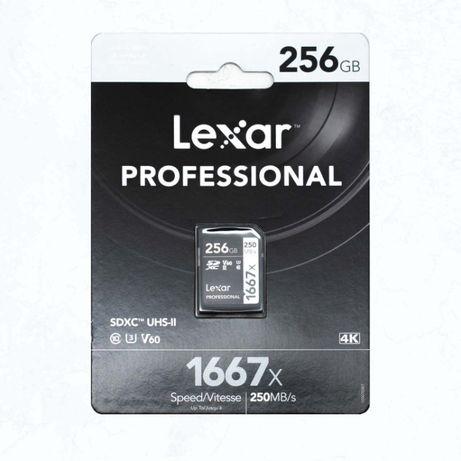 Карта пам'ятi Lexar 1667x 256GB SD XC UHS-II аналог SanDisk Extreme Pr