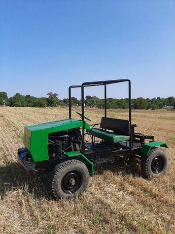 Потужний трактор 4х4 на базі Газ 69, двигун Т-40