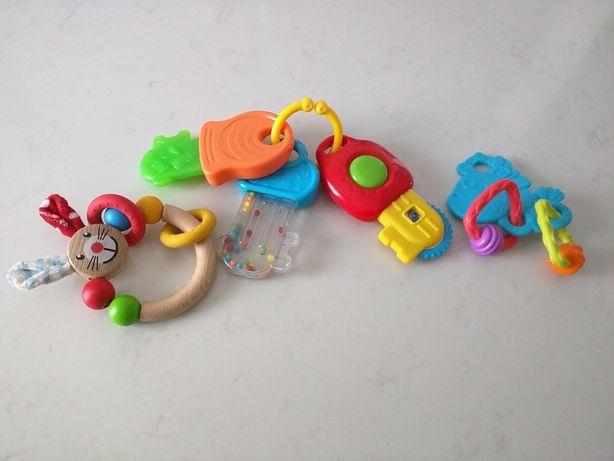 3 Rocas de bebé de plástico/madrira
