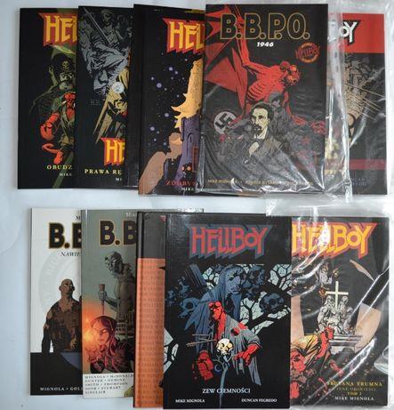 Hellboy komiksy