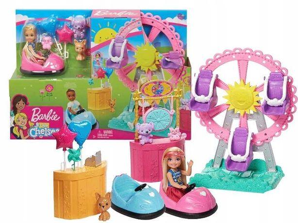 набор кукла Барби Челси Колесо обозрения веселый городок Barbie