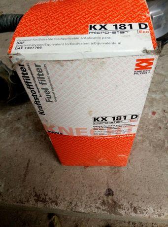 Топливный фильтр Knecht MAHLE KX 181D
