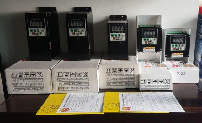 Перетворювач частоти частотник 2,2 кВт и другие преобразователь частот