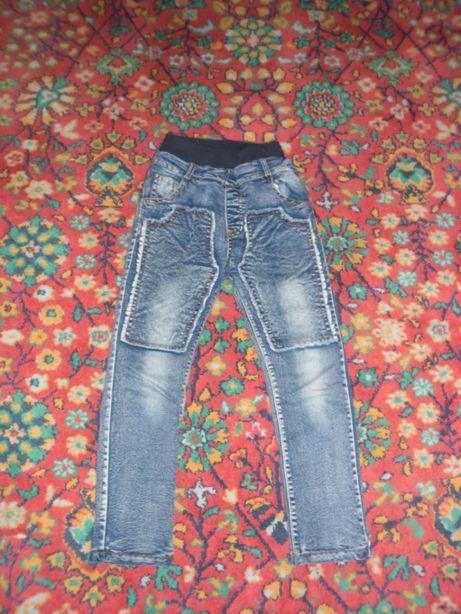 джинсы мальчик, с утеплителем.