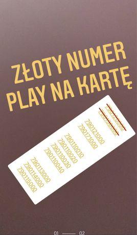 Złoty Numer - Play na Kartę