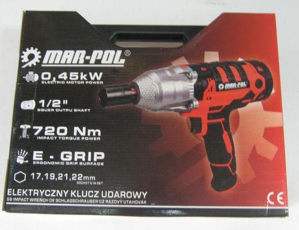 Klucz elektryczny udarowy 720Nm MAR-POL