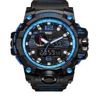 231 Męski zegarek SMAEL sportowy zegarek podwójny wyświetlacz