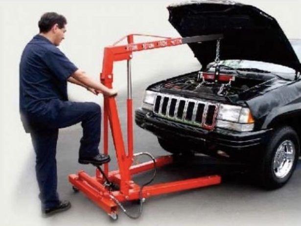Кран для двигателя гидравлический подъемник аренда