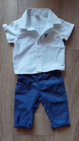 Zestaw, komplet spodnie koszula Cool Club 62