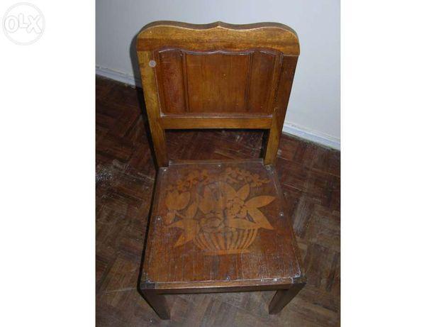 Cadeira Madeira, Vintage