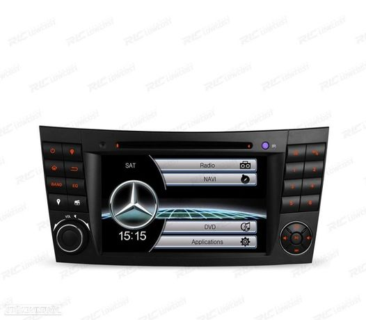 "AUTO RADIO TIPO OEM 7"" MERCEDES CL. E W211 / CLS W219 USB GPS TACTIL HD"