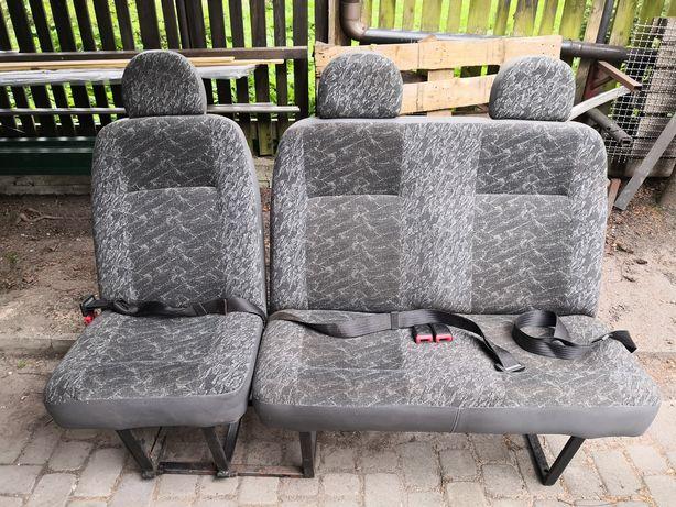 Mercedes Sprinter - fotel i kanapa z tyłu