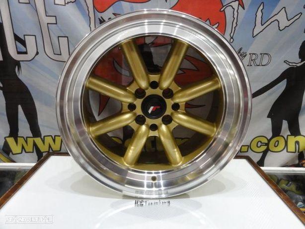 ULTIMA UNIDADE Jante Original Japan Racing JR19 16x8 ET-20 4x100/114 Dourado c/aba polida