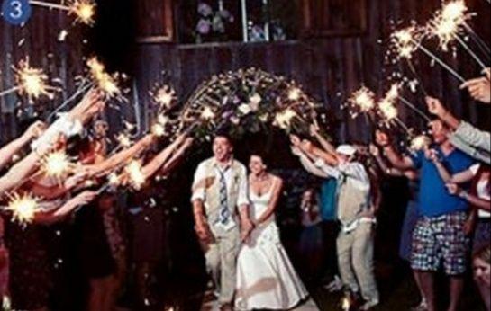 Długie zimne ognie 70 cm wesele ślub 50 sztuk