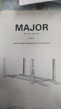 Podnośnik STENHOJ MAJOR 430 C z wózkiem hydraulicznym