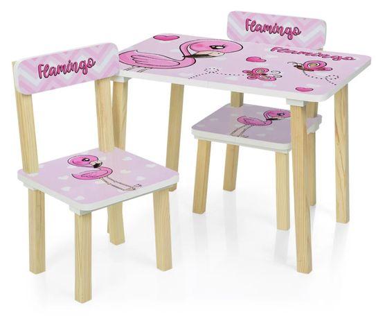 Детский столик + два стульчик / дитячий столик + два стільчика