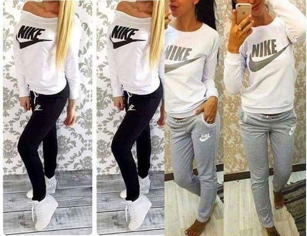 Dresy damskie z logo Nike 4 kolory S-XL!!!