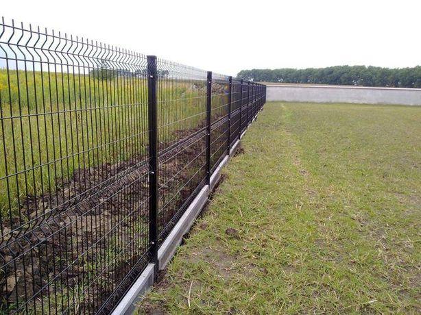 Ogrodzenia panelowe panele ogrodzeniowe Panel 153 fi 4 montaż