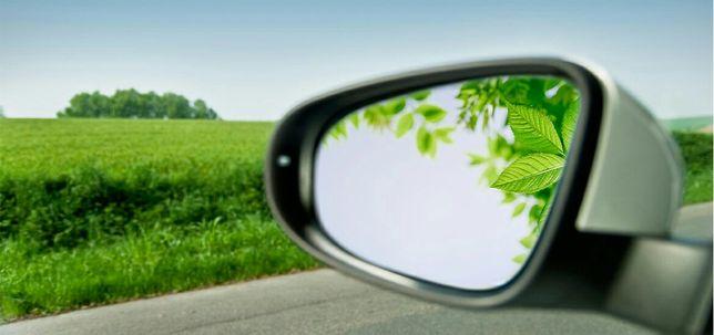 Авто зеркало резка любой формы