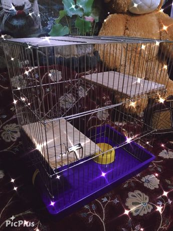 Клетка в цинке для грызунов