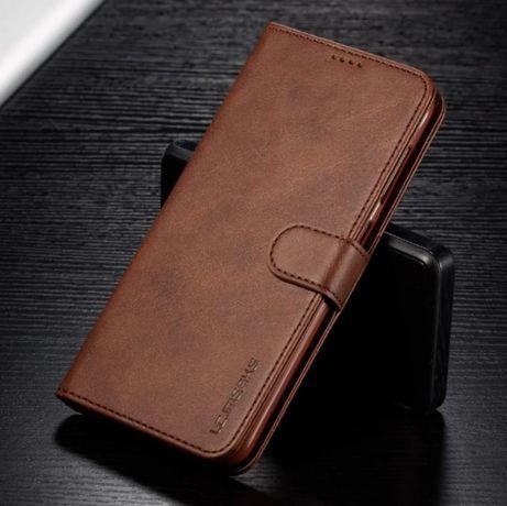 Кожаный чехол книжка на Samsung S20 S20 Plus S20 Ultra Note 10 Lite