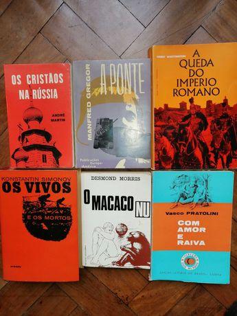 Conjunto de Livros antigos baratos
