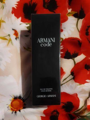 Armani Code Армани Код 125мл оригинал туалетная вода духи парфюм мужск