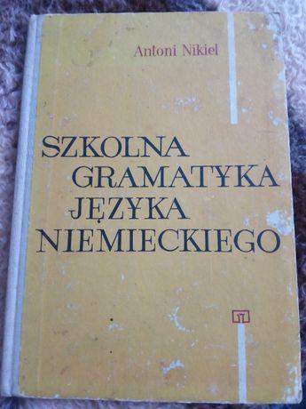 Antoni Nikiel, Szkolna gramatyka języka niemieckiego