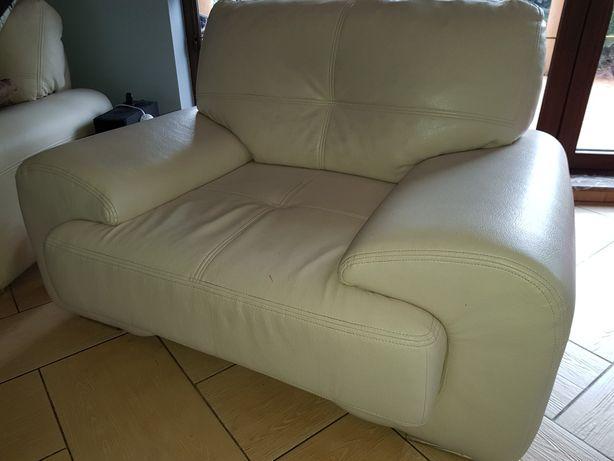 Meble 3 plus 1 kanapa sofa fotel ecoskóra